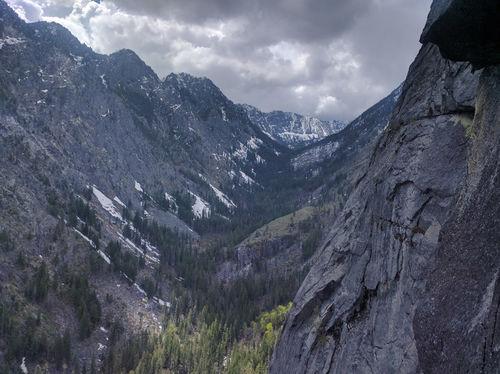 Incredible views, incredible climbing