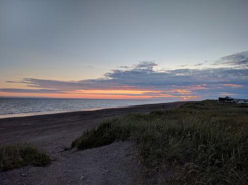The always beautiful beach sunsets